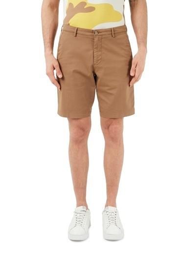 Hugo Boss  Slim Fit Cepli Pamuklu Short Erkek Short 50406679 268 Kahve